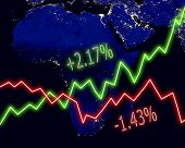 Africa Map Stock Market