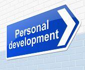 Personal Development Concept.