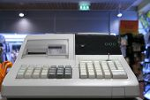 stock photo of cash register  - cash register - JPG