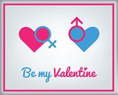 Greeting Card For Valentine's Day