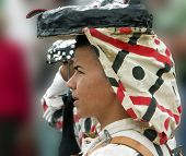 Young Male Dancer In Costume