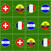 Brazil Cup Matches Group E