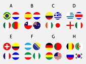 Brazil Cup Groups Circles
