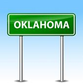 Oklahoma Green Sign