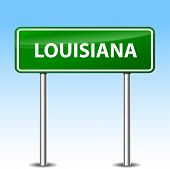 Louisiana Green Sign