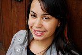 Beautiful Hispanic teenager