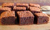 Slices Of Brownies