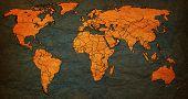 Oman Territory On World Map