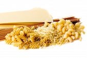 Types Of Raw Pasta