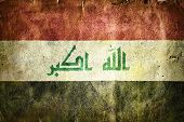foto of mesopotamia  - flag of Iraq - JPG