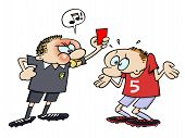 Soccer red card