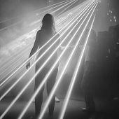 woman on dance floor