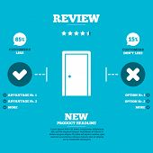 image of door  - Review with five stars rating - JPG