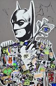Street art Montreal Batman