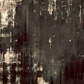 Abstract blank grunge background, old texture with stains and different color patterns: brown; black; gray