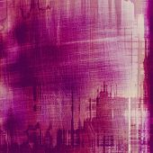 Background with grunge stains. With different color patterns: purple (violet); pink; red (orange)