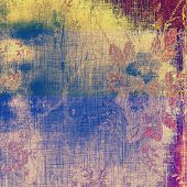 Old grunge template. With different color patterns: purple (violet); brown; cyan; yellow (beige)