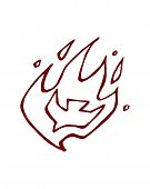 picture of holy-spirit  - Hand drawn vector illustration or drawing of a dove - JPG