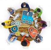 Big Data Brainstorming Business Meeting Planning Seminar Concept