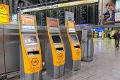 Lufthansa Self Checkin Machines