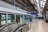 Train at the Frankfurt Airport