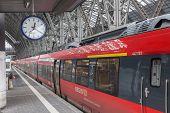 Regio Train In Frankfurt Main