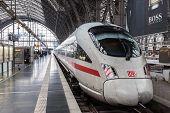 ICE Train In Frankfurt Main