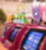 image of international trade  - Generic trade show image with blurred defocusing  - JPG