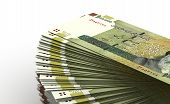 picture of iranian  - Stack of Iranian Rial  - JPG