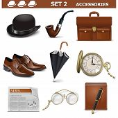 image of tobacco-pipe  - Male Accessories Set 2 - JPG
