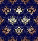 picture of arabian  - Seamless pattern background in Arabian style - JPG