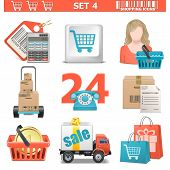 pic of gift basket  - Shopping Icons Set 4 - JPG