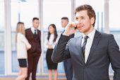 pic of people talking phone  - Phone call - JPG