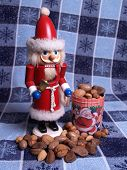 Santa Nutcracker With Nuts