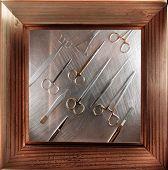 framed surgical instruments