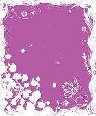 Grunge Background flor, elementos de Design
