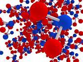 Water Molecule Imaginery