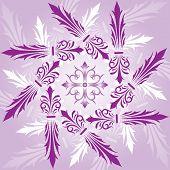 Floral abstrato, elementos de Design, vetor