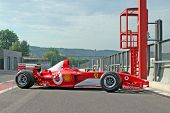 Ferrari F2003-GA Michael Schumacher in pitlane