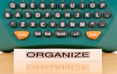 Keeping Organized