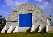 Quonset Blue