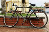 Antiga bicicleta Bicicleta Vieja