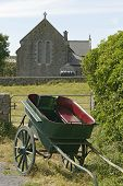 Horse Carriage And Church