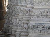 Elephant Sculptures On Column Bases