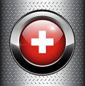 Suisse Flag Button