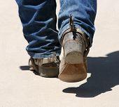 Las botas son para Walkin '