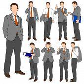 Business Men Group Set 01