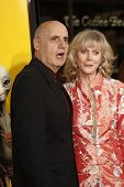 LOS ANGELES - MAR 14:  Jeffrey Tambor, Blythe Danner arriving at the US premiere of 'Paul' at the Gr