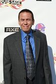 BURBANK - AUG 3:  Gilbert Gottfried arrives at the Bob Saget Roast in Burbank, California on August