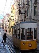Funicular In Lisboa